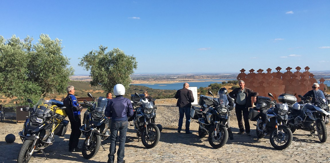 Lusitanian motorcycle ride with Air Moto Tours