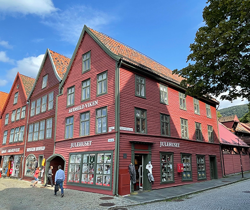 Bergen, motorcycle road trip to Norway with Air Moto Tours