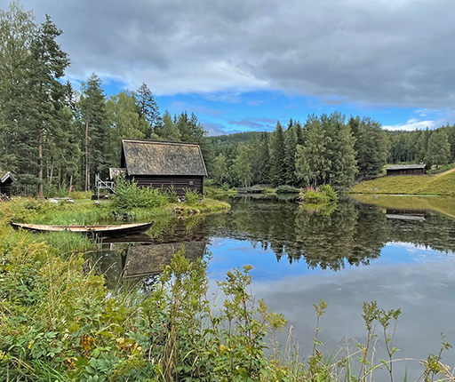 Lillehammer, motorcycle road trip to Norway with Air Moto Tours