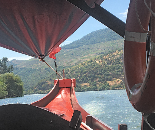 Pinhao, Douro valley, motorcycle road trip in Portugal with Air Moto Tours