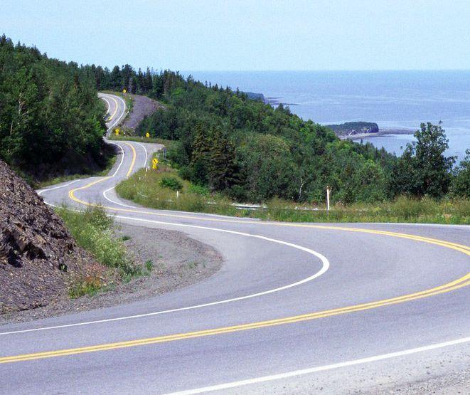 Tadoussac, road trip à moto au Canada avec Air Moto Tours