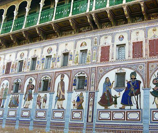 Haveli, Mandawa un road trip en Inde avec Air Moto Tours