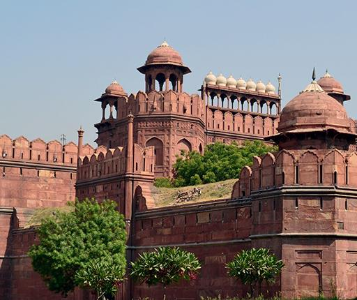 Red Fort, Agra, un road trip en Inde avec Air Moto Tours