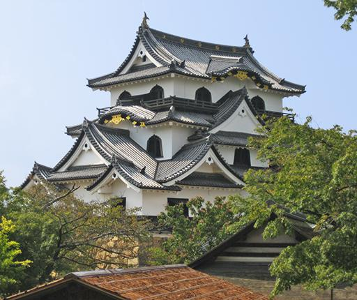 Hikone castle, road trip à moto au Japon avec Air Moto Tours