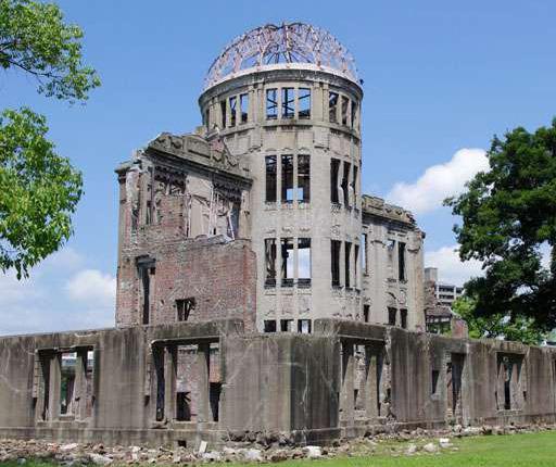 Hiroshima Genbaku Dome, motorcycle road trip to Japan with Air Moto Tours