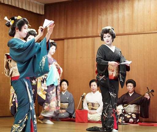 Niigata geisha avec Air Moto Tours votre agence de voyage à moto
