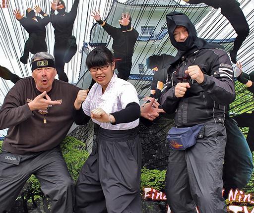 Iga musée des ninjas, road trip à moto au Japon avec Air Moto Tours
