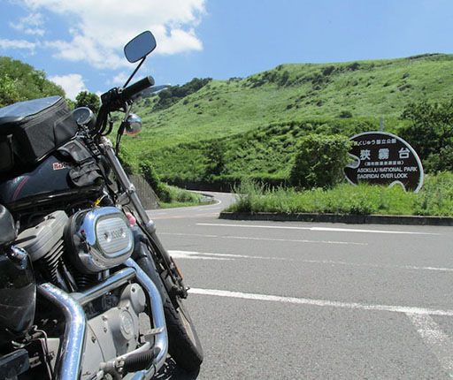 Sagiridai, motorcycle road trip on Kyushu with Air Moto Tours