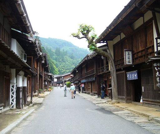 Tsumago, Magome, motorcycle road trip to Japan with Air Moto Tours