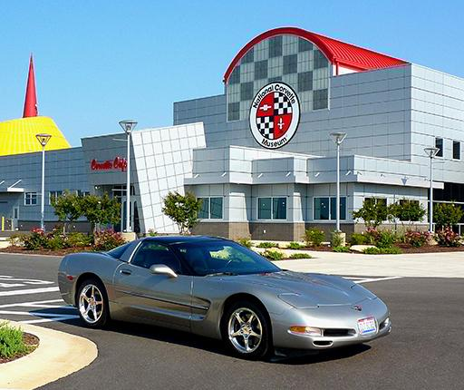 Corvette Museum, motorcycle road trip on the Mississippi Blues trail withj with Air Moto Tours
