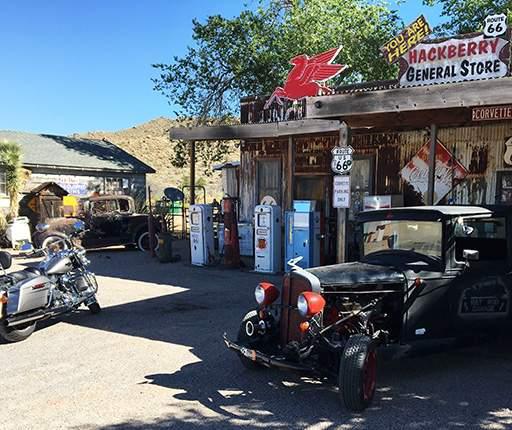 Hackberry, road trip moto dans l'Ouest américain avec Air Moto Tours