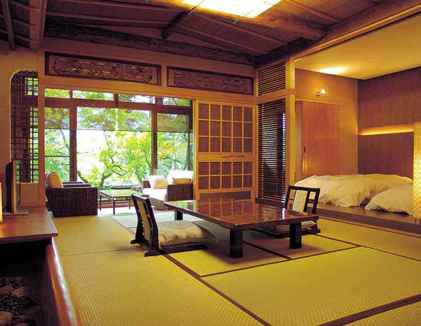Luxurious and traditional lodgings all along your motorcycle tour in Japan